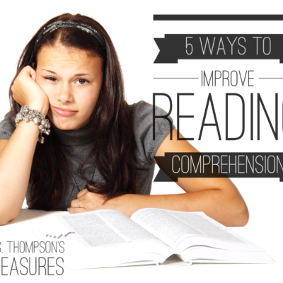 5 Ways to Improve Reading Comprehension