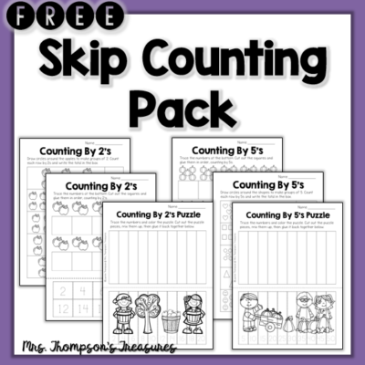How to Teach Skip Counting – Ideas & Activities
