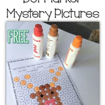 Free Christmas Dot Marker Picture Activities