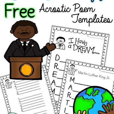 Martin Luther King Jr Free Activities