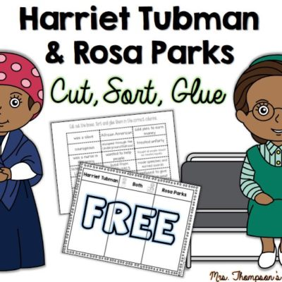 Free Black History Month Sorting Activity