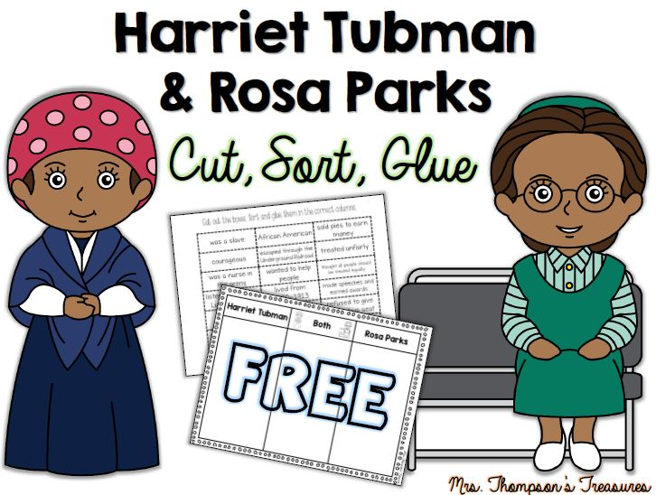 Free Black History Month Sorting Activity Mrs Thompson