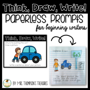 Free week of paperless journal prompts to encourage writing and critical thinking.