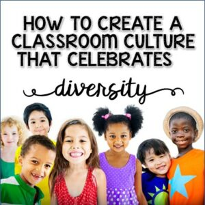 Create a culture that celebrates diversity in your classroom. #diversity
