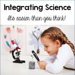 Easily integrate science into your classroom. #science #integration