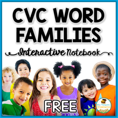 CVC Word Family Interactive Notebook