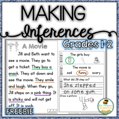 Making Inferences Close Reading