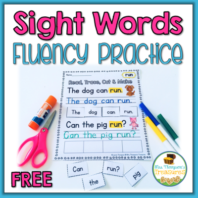 Sight Words Fluency Practice