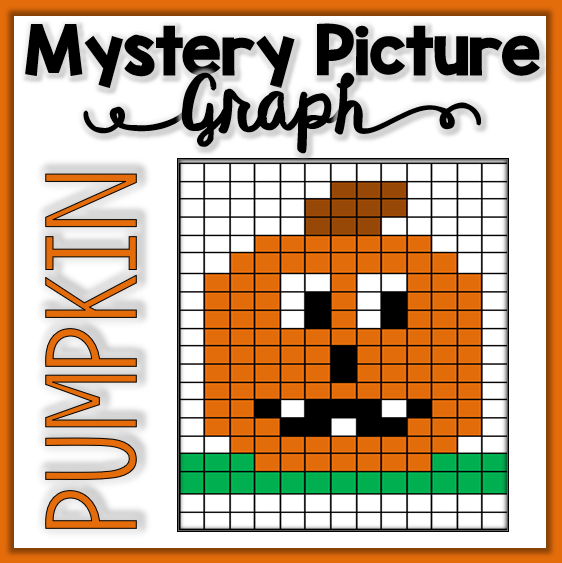 Pumpkin Mystery Picture Graph Mrs Thompson 39 S Treasures