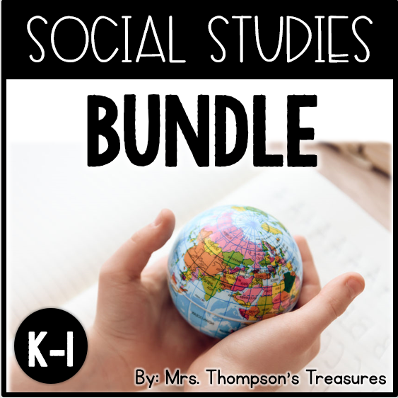 Social studies curriculum for kindergarten and 1st
