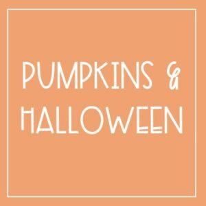 Pumpkins & Halloween