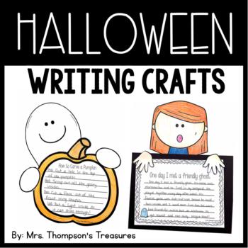 Halloween Writing Crafts