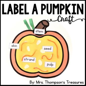 Label a Pumpkin Craft