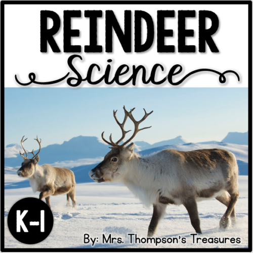 Fun reindeer activities for Christmas or winter.