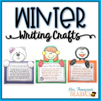 Winter Writing Crafts