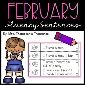 February Fluency Sentences