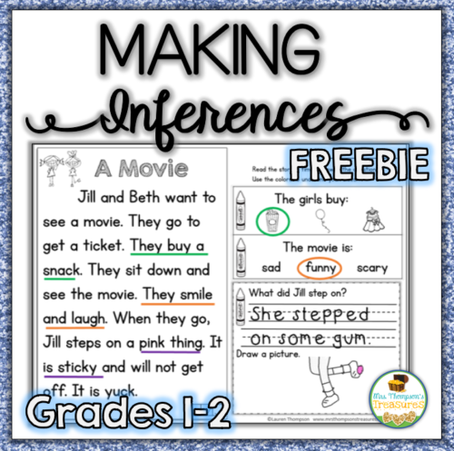 Free reading comprehension passage to build fluency and practice using context clues to make inferences.