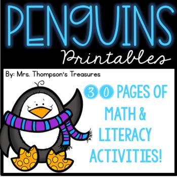 Penguin Printables