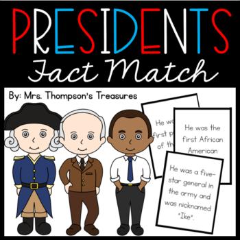 Presidents Fact Match
