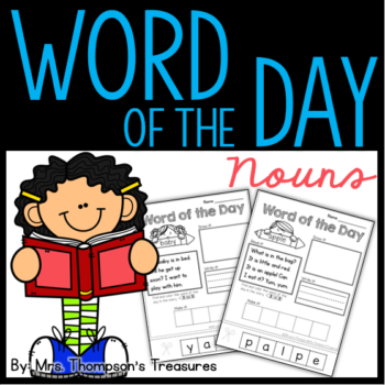 Word of the Day – Nouns