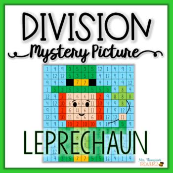 Division Mystery Picture – Leprechaun