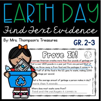 Earth Day – Prove It