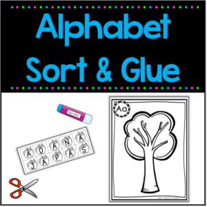 Alphabet Sorting Letters - upper and lower case