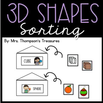 3D Shape Sorting