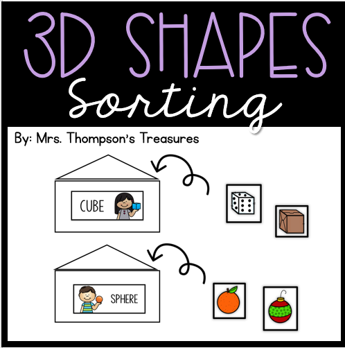 Shape sorting 3-D objects