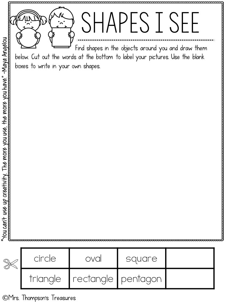 Observation journal activities for kids - activities to encourage and practice observation skills.