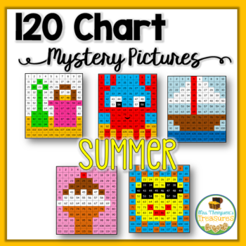 Summer 120 Chart Mystery Pictures