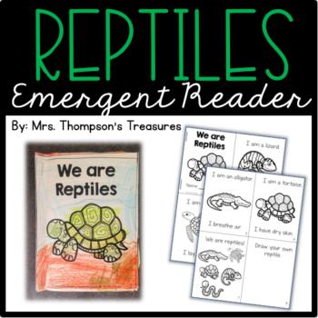 Reptiles Emergent Reader