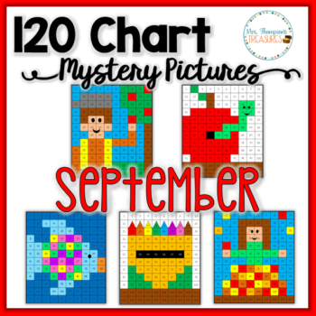 120 Chart Mystery Pictures – September