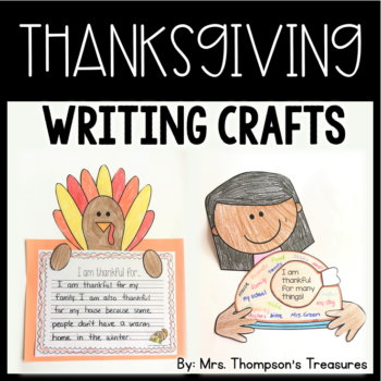 Thanksgiving Writing Crafts