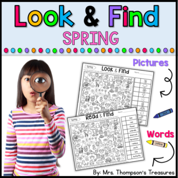 Look & Find Spring Pictures