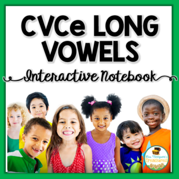 CVCe Long Vowels Interactive Notebook