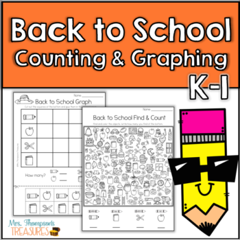 Back to School Counting & Graphing