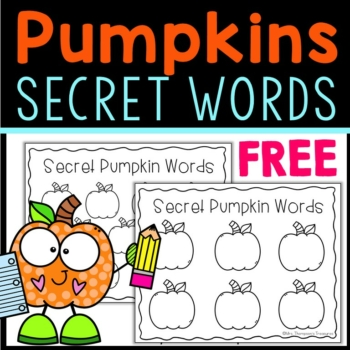 Secret Pumpkin Words