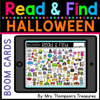 Halloween Seek & Find