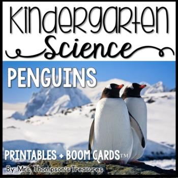 Penguin Science Printables & Boom Cards™